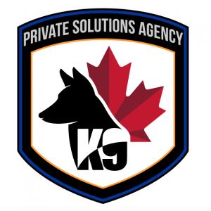 k9 guarding canada agency